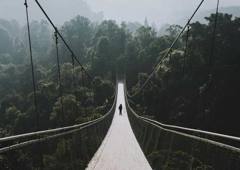Fakta Tentang Jembatan Gantung Situ Gunung